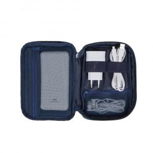 RivaCase blue travel organizer 5631