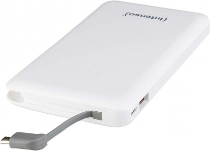 Intenso S 10000mAh portable battery - White