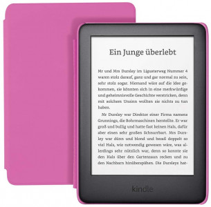 Amazon Kindle Kids Edition, 8 GB, WiFi, e-bralnik, roza