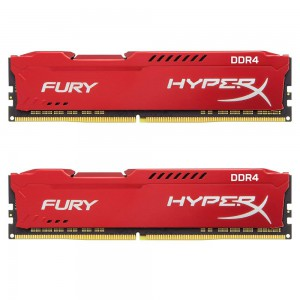 Kingston HyperX Fury Red 16GB 2666MHz DDR4 CL16