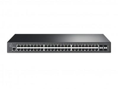 TP-LINK JetStream 48-portni Gigabit L2 Managed stikalo s 4 SFP sloti