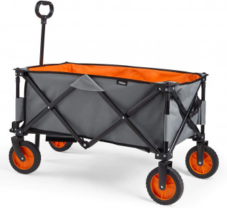 VonHaus folding camping trolley up to 70kg