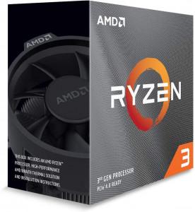 AMD Ryzen 3 3100 procesor z Wraith Stealth hladilnikom