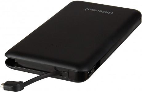 Intenso S 10000mAh prenosna baterija - Črna
