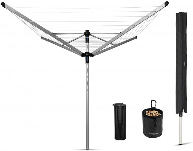 Brabantia outdoor dryer Lift-O-Matic Advance 60m + accessories