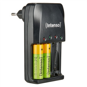 Intenso battery charger Energy Eco + 2x AA 2100mAh batteries