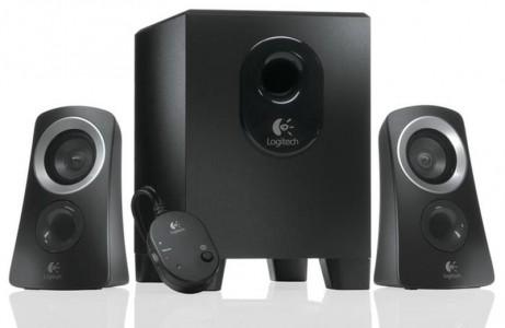 Logitech zvočniki 2.1 Z313 RMS 25W črni