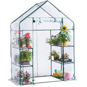 VonHaus greenhouse 193 x 73 x 143cm
