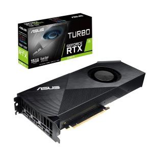 ASUS GeForce RTX 2080 Ti 11G Turbo Edition GDDR6 HDMI DP 1.4 Type-C grafična kartica