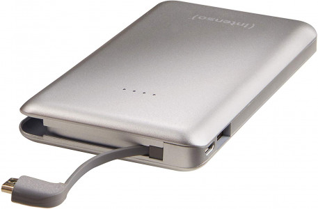 Intenso S 10000mAh Portable Battery - Silver