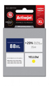 ActiveJet yellow ink HP 88XL C9393AE