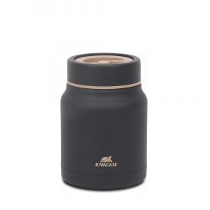 RivaCase black thermo container 90331BK, 0.5L