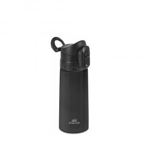 RivaCase black vacuum thermos 90351BK, 0.35L
