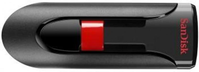 Sandisk Cruzer Glide 16GB USB2.0 črno-rdeč spominski ključek