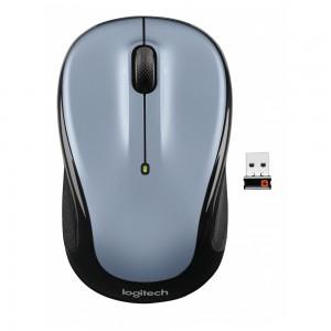 LOGITECH M325 brezžična miška, nano, sivo-modra