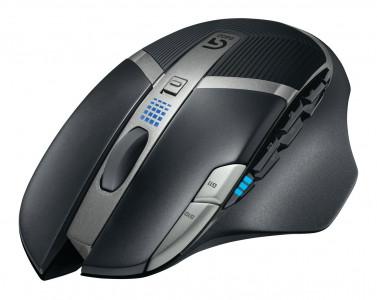 Logitech miška G602 Wireless Gaming, črna