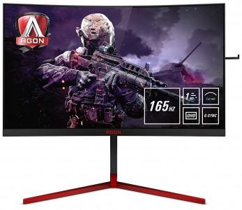 AOC AG273QCG 27'' ukrivljen gaming monitor