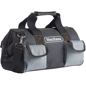 VonHaus torba za orodje 15'' črno-siva