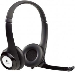 Logitech Headphones H390, stereo, USB