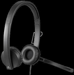 Logitech Headphones OEM, H570e, stereo, USB