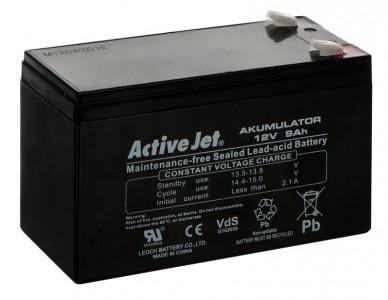 Activejet battery / accumulator 12V 9Ah