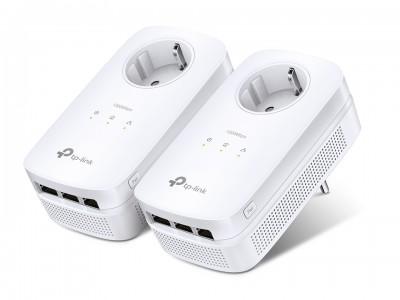 TP-LINK AV1200 3-Portni Gigabit Passthrough Powerline kit