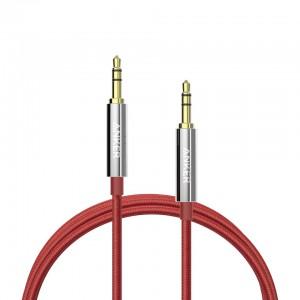 Anker 3.5mm aux audio kabel 1,2m rdeč
