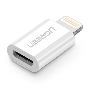 Ugreen Lightning na Micro USB Adapter bel