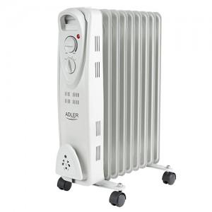 Adler oljni radiator 2000W bel