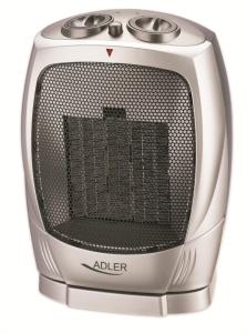 Adler keramični grelec/kalorifer 1500 W srebrn