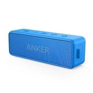 Anker SoundCore 2 Bluetooth 4.2 zvočnik črn 2x6W IPX5 vodoodporen moder