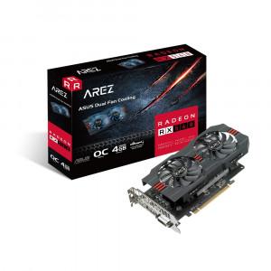 Grafična kartica ASUS Radeon RX 560 AREZ OC Evo, 4GB GDDR5, PCI-E 3.0