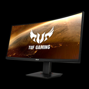 ASUS VG35VQ  35'' TUF Gaming ukrivljen monitor, 3440 x 1440, 1ms, 100Hz, DisplayPort, USB3.0
