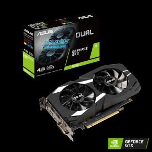 Grafična kartica ASUS GeForce GTX 1650 DUAL, 4GB GDDR5, PCI-E 3.0
