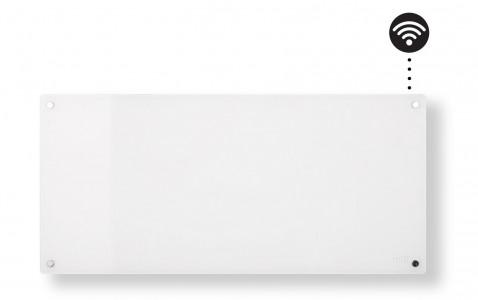 MILL panelni konvekcijski radiator Wi-Fi 900W bel steklo AV900WIFI