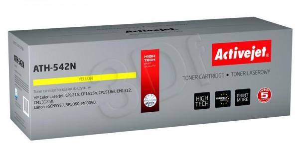 ActiveJet rumen toner HP 125A/CB542A Canon CRG-716Y