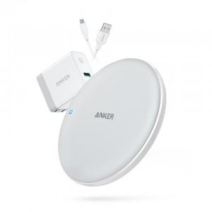 Anker PowerPort 7.5W  brezžična polnila postaja bela