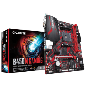 GIGABYTE B450M GAMING, DDR4, SATA3, USB3.1Gen1, HDMI, AM4 mATX
