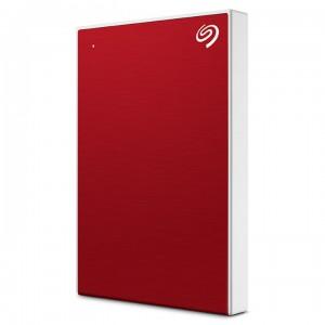 Seagate 2TB BackUp Plus Slim, prenosni disk 6,35cm (2,5) USB 3.0, rdeč