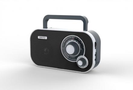 Camry portable radio black