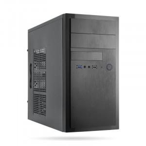 Chieftec HT-01B-500GPB 500W USB3 mATX ohišje z napajalnikom