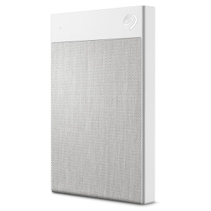 Seagate 2TB BackUp Plus Ultra Touch, portable drive 6.35cm (2.5) USB-C, white