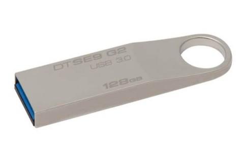 USB DISK KINGSTON 128GB DTSE9G2, 3.0, kovinski, brez pokrovčka