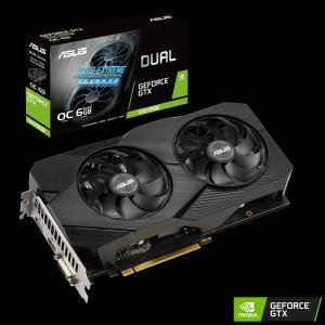 Grafična kartica ASUS GeForce GTX 1660 SUPER OC DUAL Evo, 6GB GDDR6, PCI-E 3.0