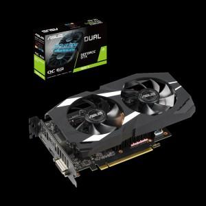 Grafična kartica ASUS GeForce GTX 1660 Ti OC DUAL, 6GB GDDR6, PCI-E 3.0