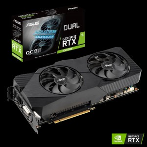 Grafična kartica ASUS GeForce RTX 2060 SUPER DUAL OC, 8GB GDDR6, PCI-E 3.0