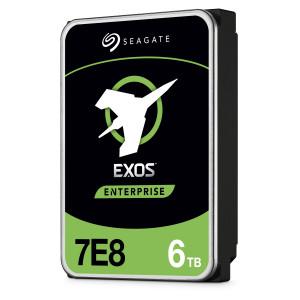 Seagate 6TB Exos SATA 7200 256MB 7E8 512E/4kn