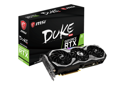 Grafična kartica MSI GeForce RTX 2080 DUKE 8G OC, 8GB GDDR6, PCI-E 3.0