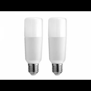 GE LED 2xsijalka 12W, E27, 6500K