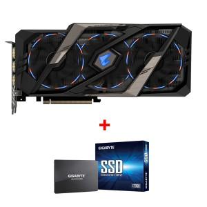 Grafična kartica GIGABYTE GeForce RTX 2070 AORUS 8G, 8GB GDDR6, PCI-E 3.0 + darilo GRATIS 120GB SSD